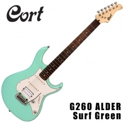 G260 Alder Surf Green/Tobaco Burst