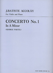 Accolay Concerto No.1 in A Minor